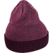 Back view of Women's Nike Sportswear Cuff Knit Beanie Hat in Tea Berry/Port Wine
