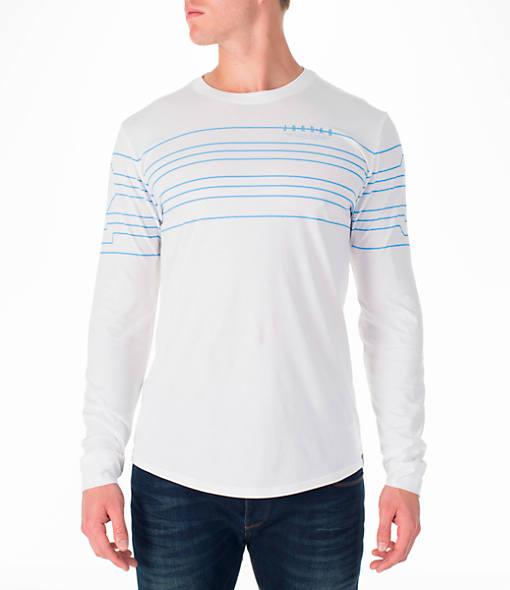 Men's Air Jordan 23 Curved Long-Sleeve T-Shirt