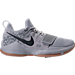 Right view of Men's Nike PG 1 Basketball Shoes in Grey/Gum/Camo