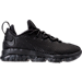 Right view of Men's Nike LeBron XIV Low Basketball Shoes in Black/Concord/White