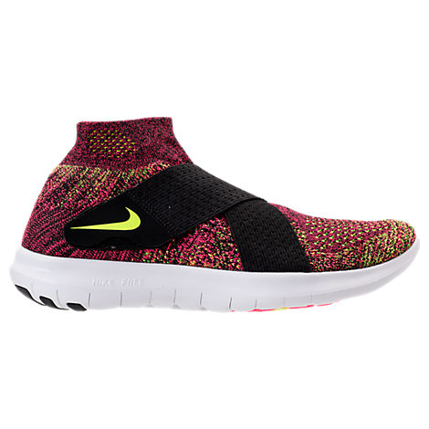 WOMEN'S FREE RUN MOTION FLYKNIT 2017 RUNNING SNEAKERS FROM FINISH LINE