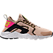 Right view of Women's Nike Air Huarache Run Ultra SI Casual Shoes in Mushroom/Deadly Pink/Black/White