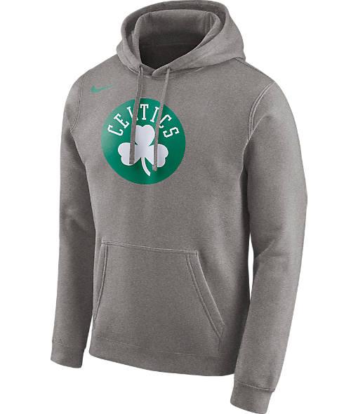 Men's Nike Boston Celtics NBA Club Logo Fleece Hoodie