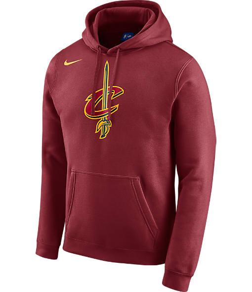 Men's Nike Cleveland Cavaliers NBA Club Logo Fleece Hoodie