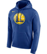 Men's Nike Golden State Warriors NBA Club Logo Fleece Hoodie
