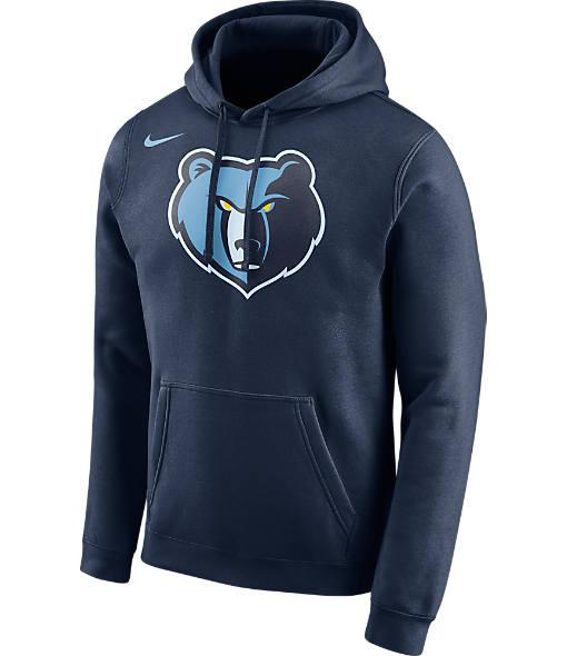 Men's Nike Memphis Grizzlies NBA Club Logo Fleece Hoodie