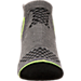Alternate view of Boys' Finish Line Performance Socks in Black/Metallic Grey/Yellow
