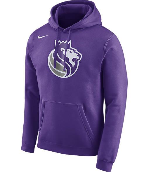 Men's Nike Sacramento Kings NBA Club Logo Fleece Hoodie