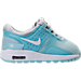 Right view of Girls' Toddler Nike Air Max Zero Essential Casual Running Shoes in Pure Platinum/White/Still Blue