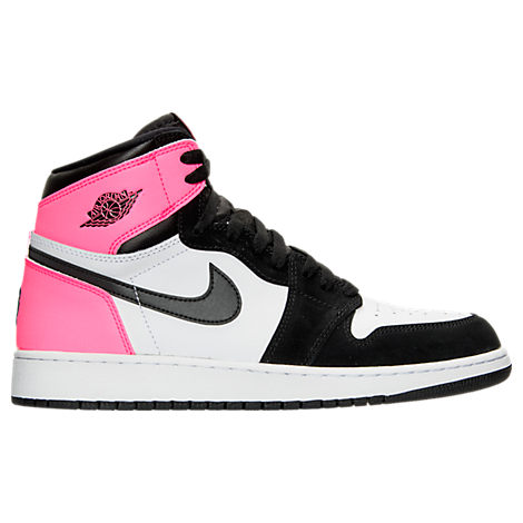 Girls' Grade School Air Jordan Retro 1 High OG (3.5y - 9.5y) Basketball Shoes