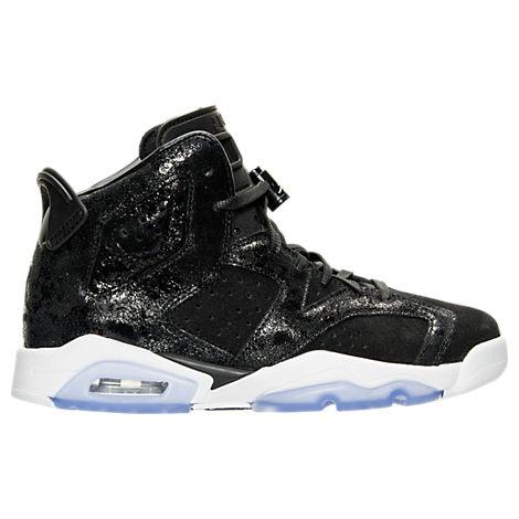 Girls' Grade School Air Jordan Retro 6 Premium Heiress Collection (3.5y - 9.5y) Basketball Shoes