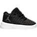Right view of Boys' Toddler Jordan B. Fly Basketball Shoes in Black/White/Dark Grey/Pure Platinum