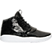 Right view of Girls' Grade School Jordan Eclipse Chukka Premium Heiress Collection (3.5y - 9.5y) Basketball Shoes in Black/White/Gym Red