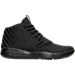 Right view of Boys' Grade School Jordan Eclipse Chukka Woven Basketball Shoes in Black/Cool Grey