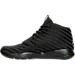 Left view of Boys' Grade School Jordan Eclipse Chukka Woven Basketball Shoes in Black/Cool Grey