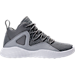 Right view of Boys' Preschool Jordan Formula 23 Basketball Shoes in Cool Grey/White/Wolf Grey