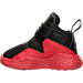 Left view of Boys' Toddler Jordan Formula 23 Basketball Shoes in Black/Gym Red/White