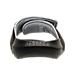 Back view of Men's Air Jordan Hyrdo 6 Slide Sandals in Black/White/Wolf Grey