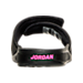 Back view of Girls' Preschool Jordan Hydro 6 Slide Sandals in Black/Hyper Pink
