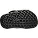 Bottom view of Boys' Toddler Jordan Hydro 6 Slide Sandals in Black/Wolf Grey