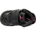 Top view of Girls' Toddler Jordan Son of Mars Basketball Shoes in Black/Hyper Pink/Anthracite