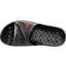 Top view of Men's Air Jordan Super.Fly Team 2 Slide Sandals in Gym Red/Black