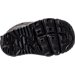 Bottom view of Boys' Toddler Nike Air Max Tiny 90 Running Shoes in Black/Black/Black