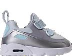 Girls' Toddler Nike Air Max Tiny 90 Running Shoes