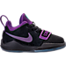 Right view of Boys' Toddler Nike PG 1 Basketball Shoes in Black/Court Purple/Hyper Grape/Jade