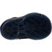 Bottom view of Boys' Toddler Nike PG 1 Basketball Shoes in Black/Court Purple/Hyper Grape/Jade