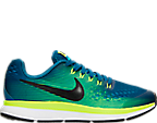 Boys' Grade School Nike Zoom Pegasus 34 Running Shoes