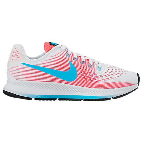 Girls' Grade School Nike Zoom Pegasus 34 Running Shoes