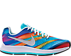 Girls' Grade School Nike Zoom Pegasus 34 Print Running Shoes