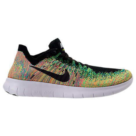 Boys' Grade School Nike Free RN Flyknit 2017 Running Shoes