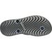 Bottom view of Men's Nike Solay Thong Sandals in Black