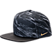 Front view of Nike S+ Air Pro 2 Adjustable Hat in Black