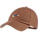 Front view of Nike Sportswear H86 Adjustable Hat in Khaki