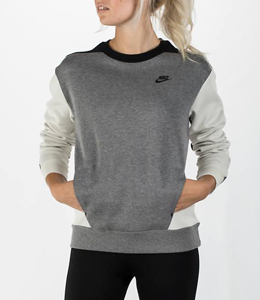 Women's Nike Sportswear Tech Fleece Crew Sweatshirt