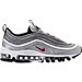 Right view of Women's Nike Air Max 97 OG Casual Shoes in Metallic Silver/Black/White/Varisty Red