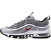 Left view of Women's Nike Air Max 97 OG Casual Shoes in Metallic Silver/Black/White/Varisty Red