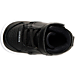 Top view of Boys' Toddler Jordan Heritage Basketball Shoes in Black/White
