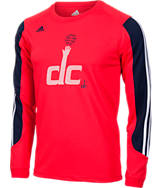 Kids' adidas Washington Wizards NBA Prestige Long-Sleeve T-Shirt