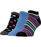 Women's Finish Line 3-Pack Low-Cut Socks
