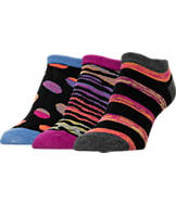 Women's Finish Line No-Show 3-Pack Socks