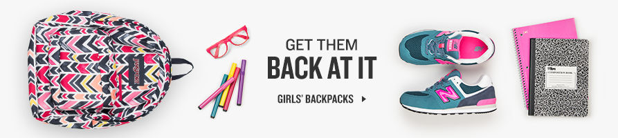 Get Back At It. Shop Girls' Backpacks.