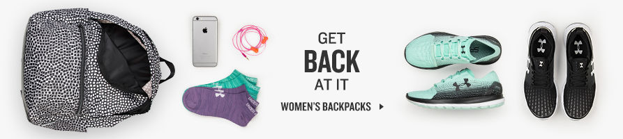 Get Back At It. Shop Women's Backpacks.