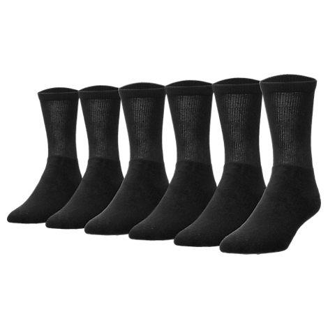Men's Finish Line 6-Pack Crew Socks