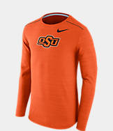 Men's Nike Oklahoma State Cowboys College Long-Sleeve Poly Player T-Shirt