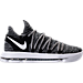 Right view of Men's Nike Zoom KDX Basketball Shoes in Black/Black