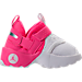 Right view of Girls' Toddler Jordan Trunner LX Training Shoes in Hyper Pink/White